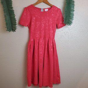 NWOT LuLaRoe Rare Floral Amelia Dress with Pockets
